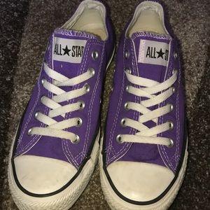 Purple converse size 7!